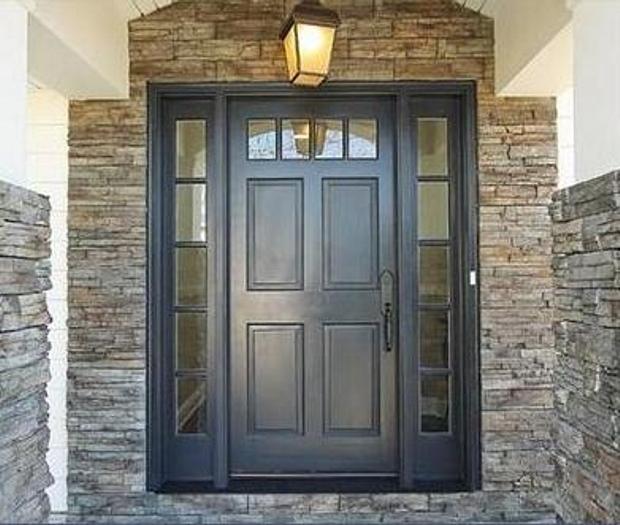 Puertas portal aluminios crisala huesca Puertas metalicas usadas